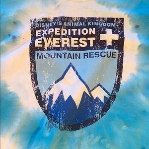 Tie Dyed Disney Parks Tee - Mountain Rescue